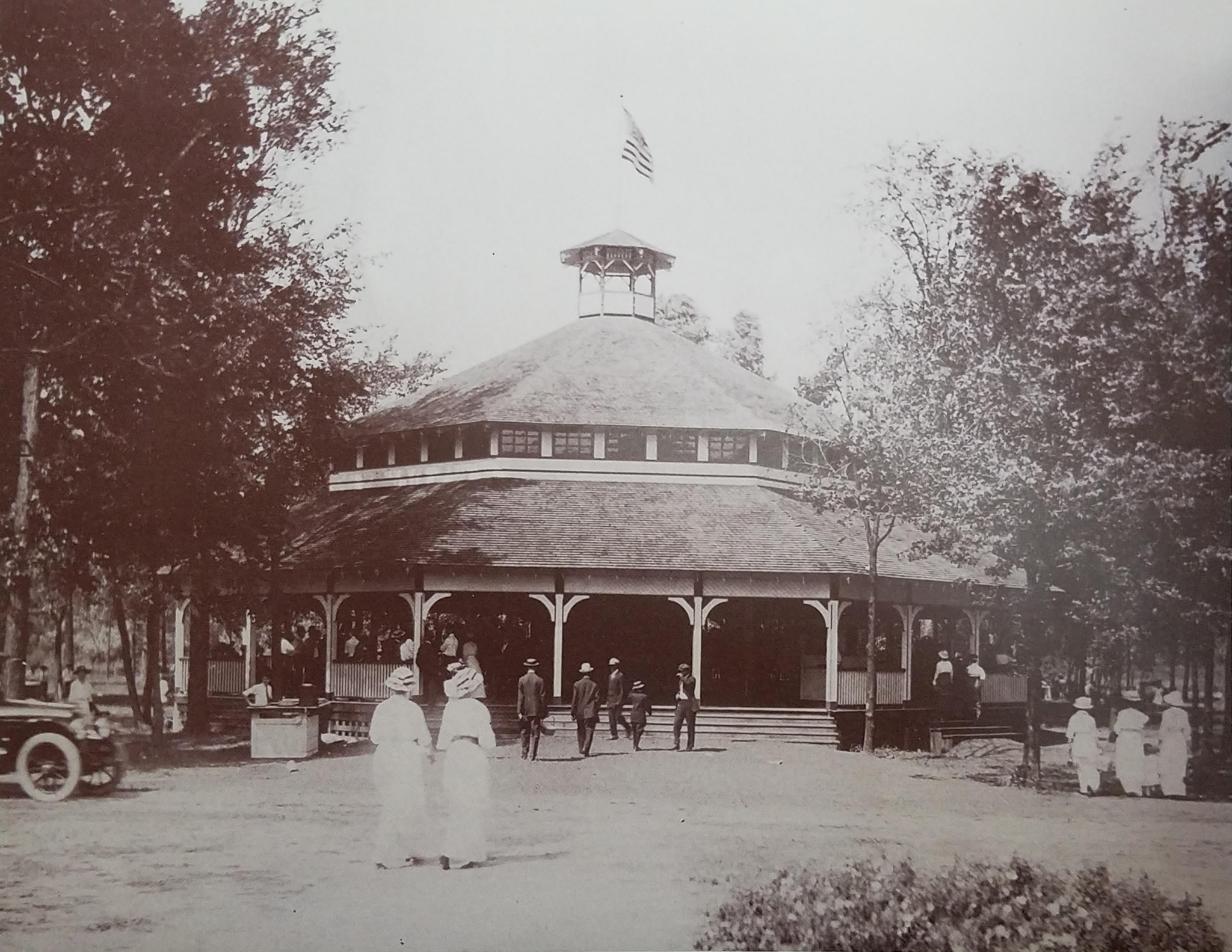Walbridge Park Pavilion in 1900