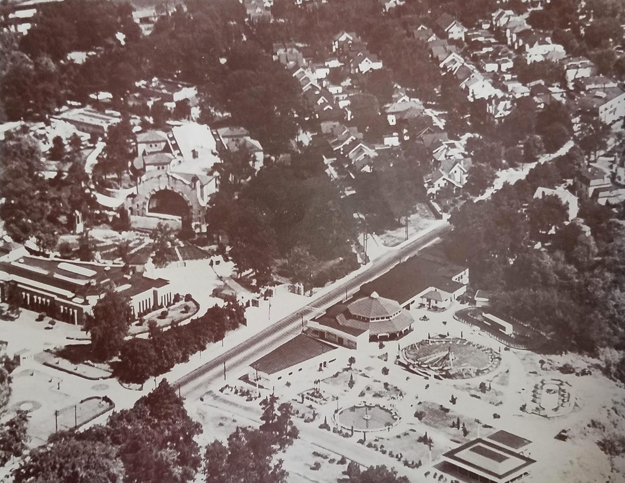 Walbridge Amusement Park in 1950