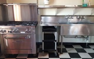 Kitchen in the Community Building